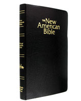 Catholic Bible - Black Imitation Leather Cover - NABRE