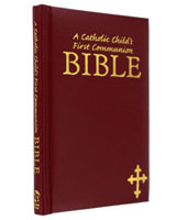 Catholic Child's First Communion Bible - Small
