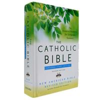 Catholic Personal Study Bible-NABRE- Hardcover