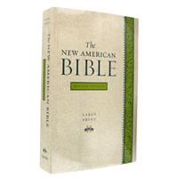 Oxford Large Print Bible - Paperback NABRE