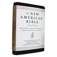 Catholic Study Bible - NABRE Black Leather
