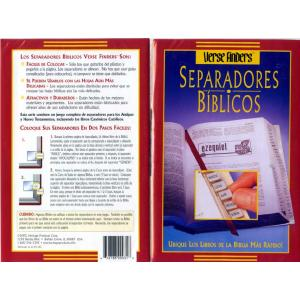 Separadores Biblicos - Bible Tabs in Spanish