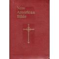 Imprinted - New American Bible - Burgundy