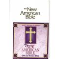 New American Bible - Gift and Award Edition - White