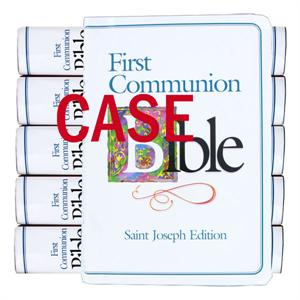 Case of First Communion Bibles, St. Joseph Edition