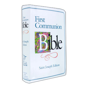 Boys First Communion Bible