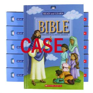 Case of 12 Read and Learn Children's Bibles