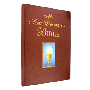 My First Communion Bible -Red