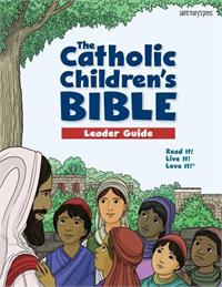 Catholic Children's Bible adult guide