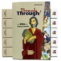 Breakthrough! The Bible for Young Catholics Hardcover Bulk Discount