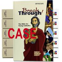 Breakthrough! The Bible for Young Catholics Hardcover Case Discount