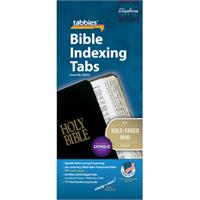 Catholic Bible Tabs - Mini Tabs