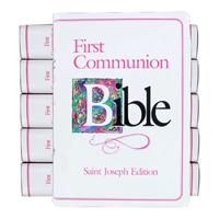 NABRE Girls First Communion Bible Bulk DIscount