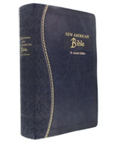 St. Joseph's Gift Edition Bible  Blue