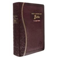 St. Joseph Gift Edition Bible - Burgundy