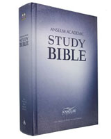 Anselm Academic Study Bible - Hardcover NABRE