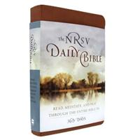 Daily Reading Bible - Imitation Leather NRSV (#70243)
