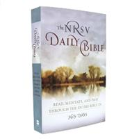 Daily Reading Bible - Paperback NRSV