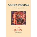 Sacra Pagina - 1, 2, and 3 John (Hardcover)